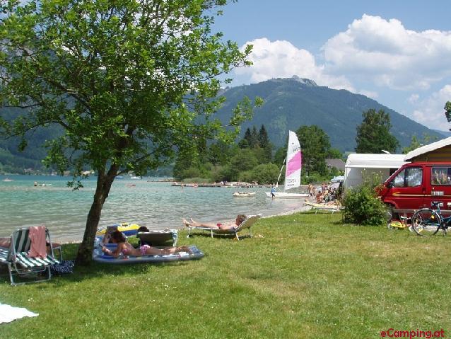 Romantik-Camping Wolfgangsee Lindenstrand - Sankt Gilgen ...